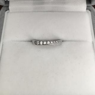 ヨンドシー(4℃)の4℃ ダイヤモンド リング Pt950 2.0mm 2.6g(リング(指輪))