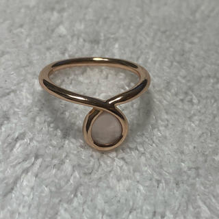 ヨンドシー(4℃)の【RUGIADA】 10K ピンクゴールド リング(リング(指輪))