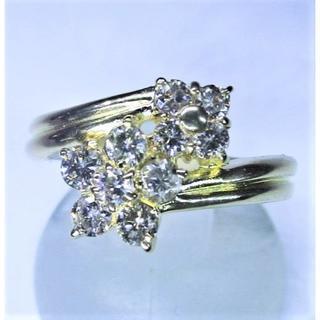 値下げ※天然ダイヤモンド0.50ctデザインリング(リング(指輪))