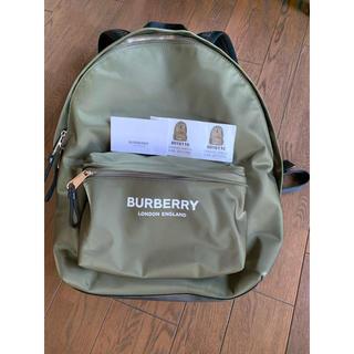 バーバリー(BURBERRY)の公式サイト売切 美品 バーバリー  パックパック(バッグパック/リュック)