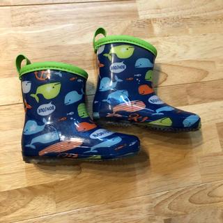 アカチャンホンポ(アカチャンホンポ)のyoyoyoh様専用内側も可愛いベビー長靴(長靴/レインシューズ)