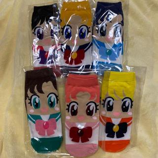 セーラームーン(セーラームーン)の美少女戦士セーラームーン 靴下 ソックス 6セット(ソックス)