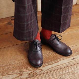 アトリエドゥサボン(l'atelier du savon)のbulle de sabon ハンドペイント革靴(ローファー/革靴)