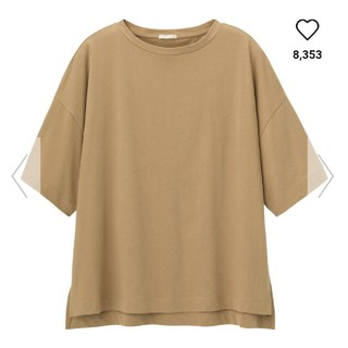 GU - GU エアリーTシャツ