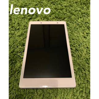 ソフトバンク(Softbank)の【値下げOK】lenovo 501LV ソフトバンク + MSD 32GB付き(タブレット)