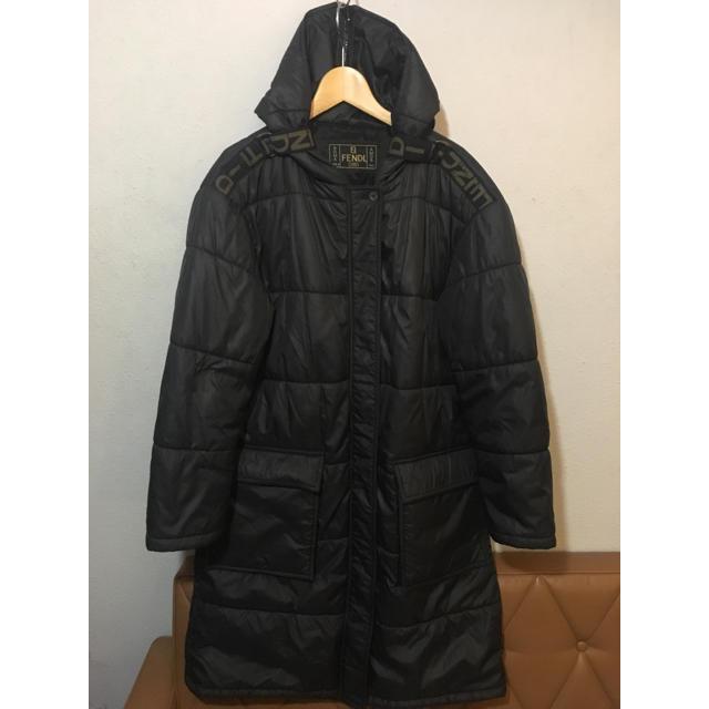 FENDI(フェンディ)のフェンディ ダウンコート 値下げしました!専用です。 レディースのジャケット/アウター(ロングコート)の商品写真