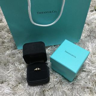 ティファニー(Tiffany & Co.)のティファニー Tワイヤーリング ダイヤ(リング(指輪))