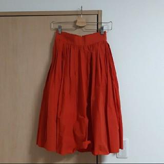 ロペ(ROPE)の【ロペ】 オレンジのスカート(ロングスカート)