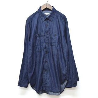 エンジニアードガーメンツ(Engineered Garments)の美品 エンジニアードガーメンツ Work Shirt ワークシャツ デニム M(シャツ)