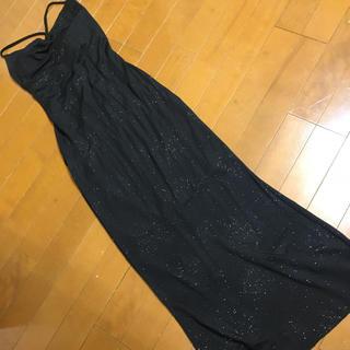 セシルマクビー(CECIL McBEE)のm様ブラックロングドレス セシルマクビー(ロングドレス)