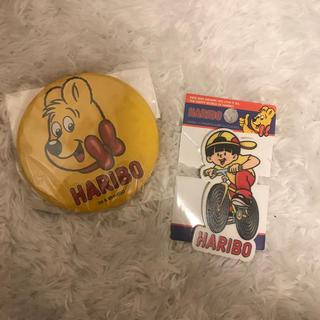 HARIBOバッチセット(キャラクターグッズ)