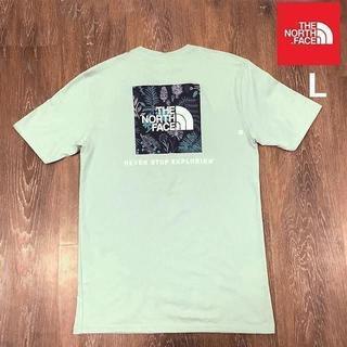 THE NORTH FACE - 売切!ノースフェイス ボックスロゴ 半袖Tシャツ(L)緑 180902