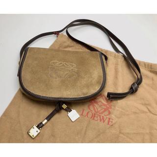 ロエベ(LOEWE)のH086 ロエベ LOEWE 牛革 ミニショルダー バッグ 保存袋付き(ショルダーバッグ)