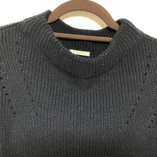ジーユー(GU)のGU セーター 黒(ニット/セーター)