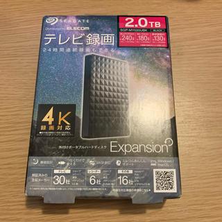 ELECOM - 新品 エレコム SGP-MY020UBK ポータブルハードディスク 2TB