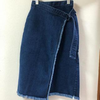 フリーズマート(FREE'S MART)の新品 デニムタイトスカート(ひざ丈スカート)