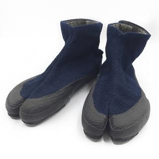 ソウソウ(SOU・SOU)のメンズ スニーカー ショートブーツ 足袋 個性的 紺 ネイビー 25cm M 紺(スニーカー)