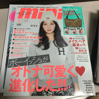 タカラジマシャ(宝島社)のmini (ミニ) 2014年 04月号(その他)