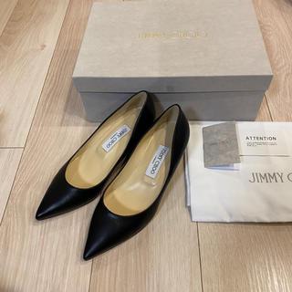 JIMMY CHOO - 新品未使用 定価81,400円 ジミーチュウ TALOR 36 ブラック