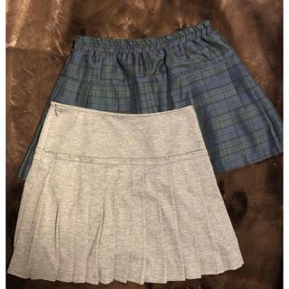 ナチュラルビューティーベーシック(NATURAL BEAUTY BASIC)のプリーツスカート2点セット💗(ミニスカート)
