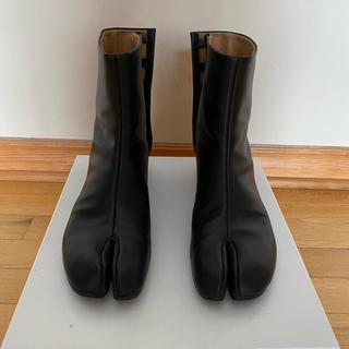 マルタンマルジェラ(Maison Martin Margiela)の【超美品】メゾンマルジェラ 足袋ブーツ 2019 aw サイズ39.5(ブーツ)