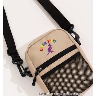 ウィゴー(WEGO)の新品 ショルダーバッグ ショルダーポーチ KANGOL(ショルダーバッグ)