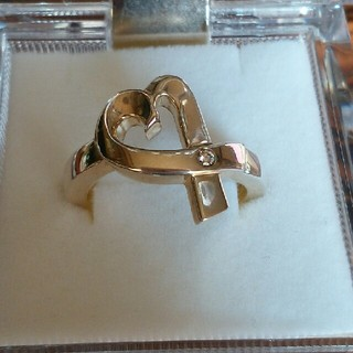 ティファニー(Tiffany & Co.)のティファニーシルバーリングラビングハート(リング(指輪))