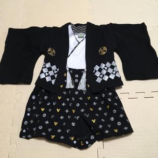ディズニー(Disney)のミッキー 袴 アカチャンホンポ ロンパース(和服/着物)