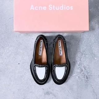 ACNE - アクネ 革靴 ローファー