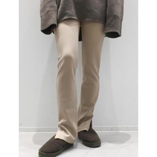 アパルトモンドゥーズィエムクラス(L'Appartement DEUXIEME CLASSE)の新品未使用 L'Appartement Wool Zip Leggings(レギンス/スパッツ)