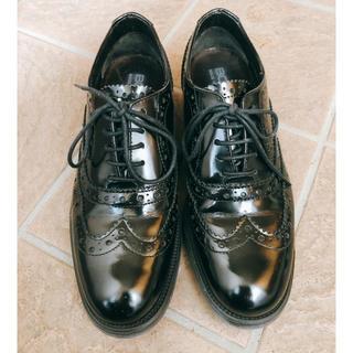 グリーンレーベルリラクシング(green label relaxing)のBOEMOS ウィングチップレースアップシューズ(ローファー/革靴)