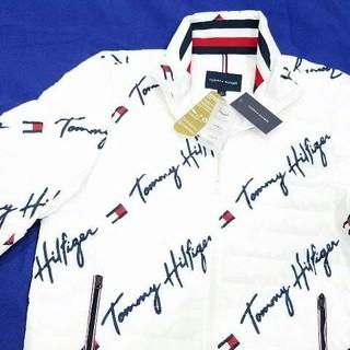 トミーヒルフィガー(TOMMY HILFIGER)のトミー ダウンジャケット シグネチャーロゴ 新品 US限定商品 XLサイズ(ダウンジャケット)