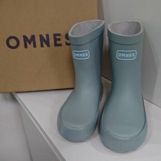 OMNES キッズレインブーツ 長靴(15cm)