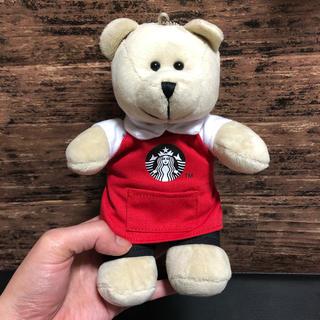 スターバックスコーヒー(Starbucks Coffee)の海外限定 スターバックス ベアリスタ   ぬいぐるみ くま キーチェーン(キーホルダー)