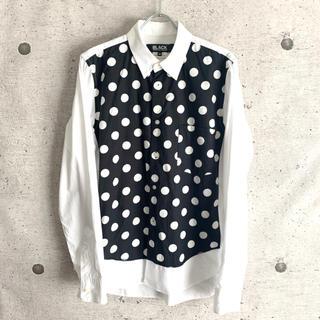 コムデギャルソンオムプリュス(COMME des GARCONS HOMME PLUS)のBLACK COMME des GARCONS コムデギャルソン ドットシャツ(シャツ)