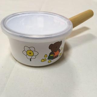 フジホーロー(富士ホーロー)の富士ホーロー ミッフィ 片手鍋 ミルクパン(鍋/フライパン)