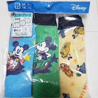 ミッキーマウス - 新品未開封ミッキーマウス前とじ3枚組ボクサーブリーフ95センチ
