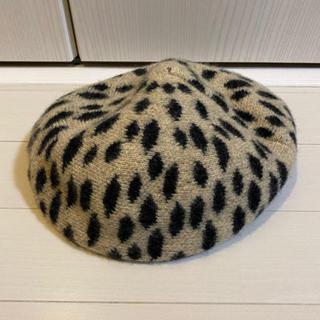 SLY - SLY レオパード柄 ベレー帽