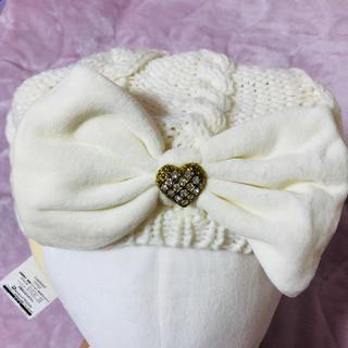 リズリサ(LIZ LISA)のリボンベレー帽(ハンチング/ベレー帽)