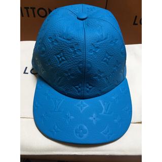 ルイヴィトン(LOUIS VUITTON)の最新作 ルイヴィトン レザーキャップ モノグラム 20ss ヴァージル 新品帽子(キャップ)