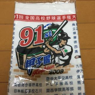 アサヒシンブンシュッパン(朝日新聞出版)の甲子園タオル 91回大会 野球 高校野球(記念品/関連グッズ)