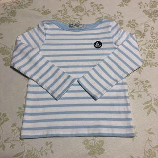 プチバトー(PETIT BATEAU)のプチバトー マリニエール長袖プルオーバー(Tシャツ/カットソー)