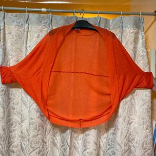 ジーユー(GU)のボレロ オレンジ色(ボレロ)