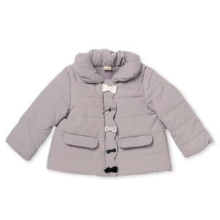 petit main - 新品 プティマイン  中綿リボンジャケット