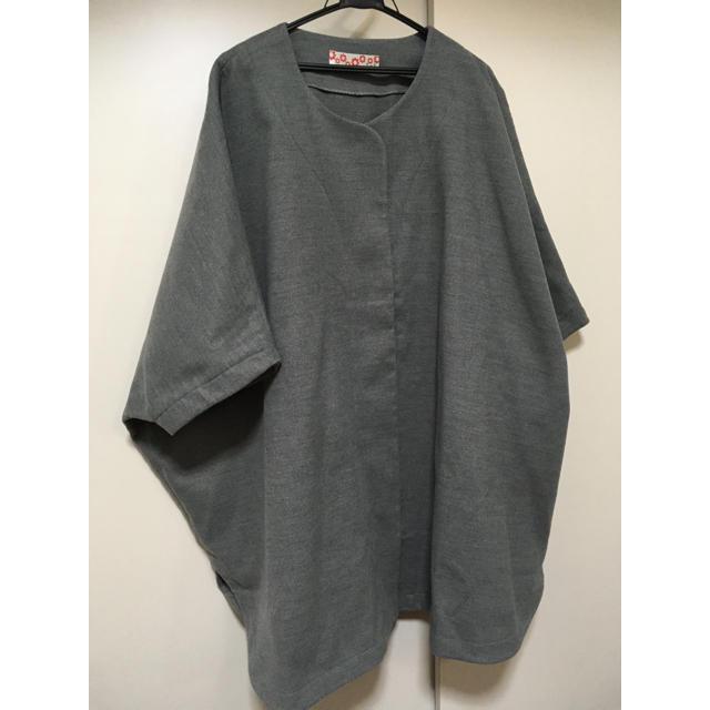 ふりふ(フリフ)のふりふ ポンチョ コート レディースのジャケット/アウター(ロングコート)の商品写真