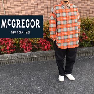 マグレガー(MacGregor)の最終値下げ マックレガー フランネルシャツ (シャツ)