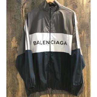 Balenciaga - BALENCIAGA 希少 ロゴプリント トラックジャケット