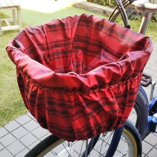自転車の前かごカバー