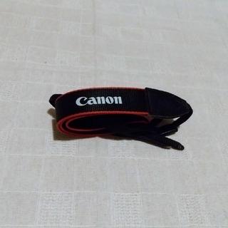 キヤノン(Canon)の【美品】キヤノン カメラストラップ(ネックストラップ)