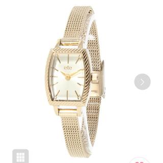 ete - ete 腕時計【gold】